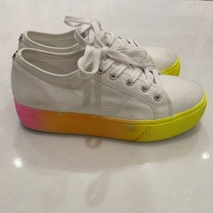 Steve Madden Sneakers Ombré Size 9